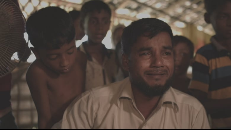 Rohingya refugee Mohammed Islam in Bangladesh thanks Canada for passing a motion declaring the Myanmar military's crackdown against the Muslim minority a genocide. (CBC News)