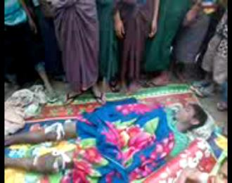 Sayed Alam, 15, killed by Myanmar military