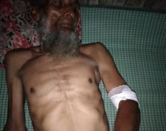 A Rohingya man was beaten and extorted