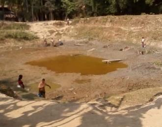 Drinking water crisis in Buthidaung