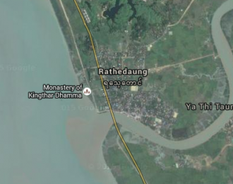 Rathedaung Map