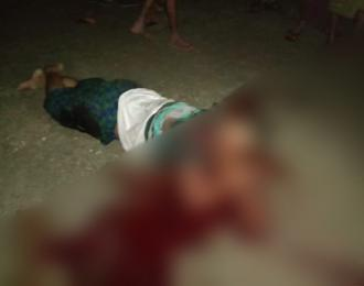 A Rohingya man shot dead by Police in Sittwe