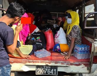 105 Rohingya sent back to Arakan